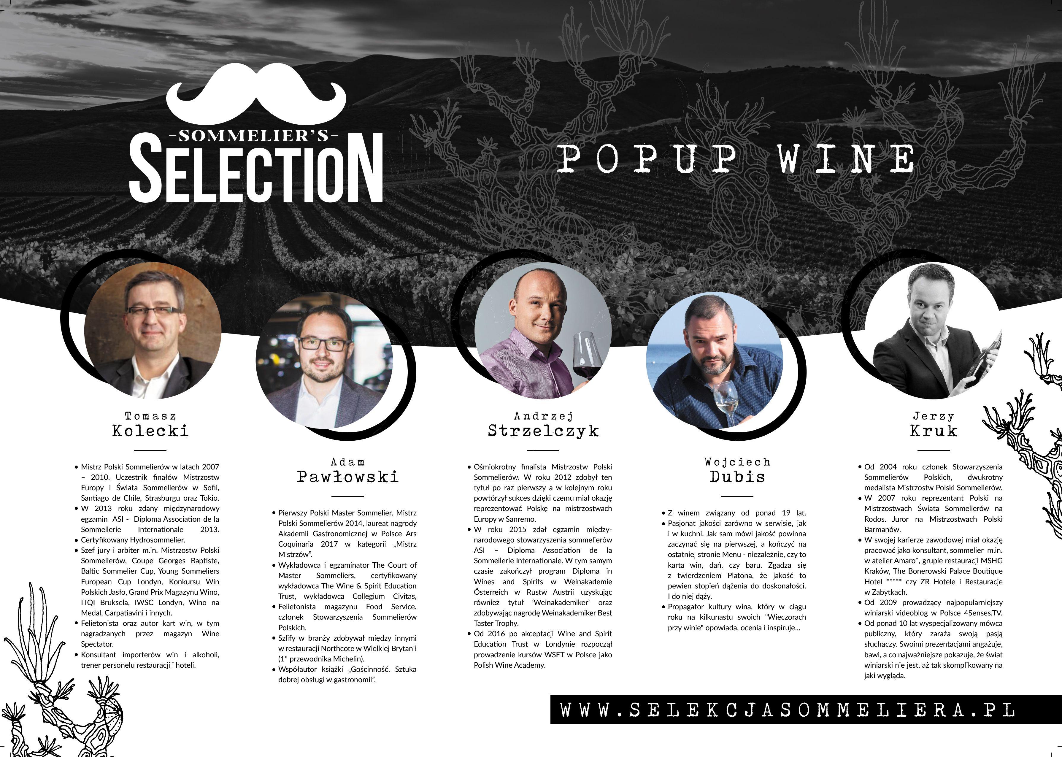 Wystartował pop -up'owy program Wine Direct – Selekcja Sommeliera