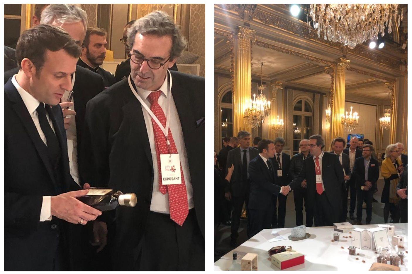 XO HINE Cognac w Pałacu Elizejskim w Paryżu