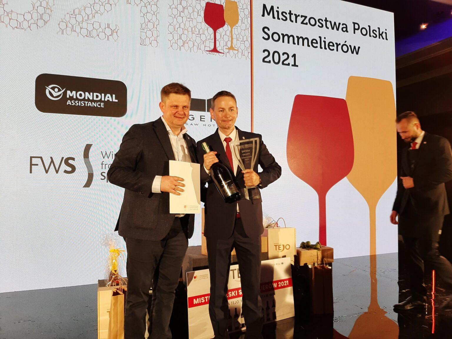 Partner Center HoReCa partnerem wydarzenia Mistrzostwa Polski Sommelierów 2021